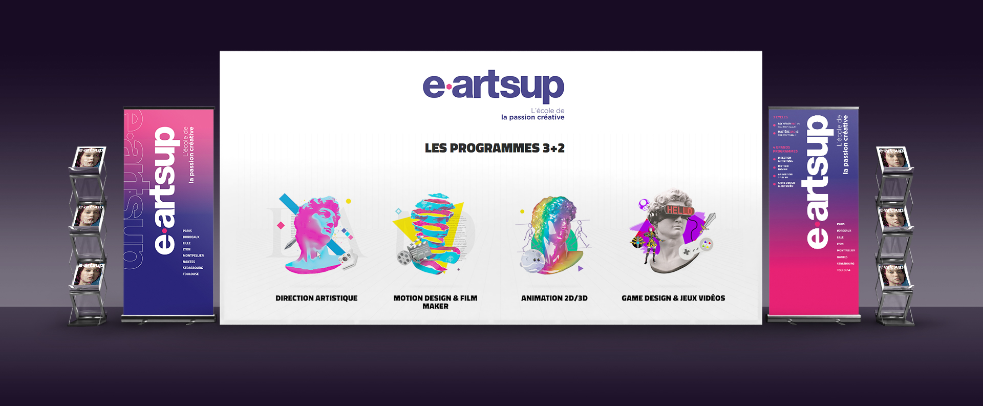 e-artsup partenaire des chatons d'or édition 2021
