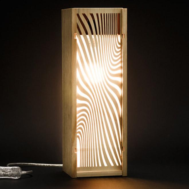 Malesan dans le journal du design lampe chatons d'or 2021